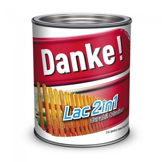 DANKE LAC COLORAT 2IN1, 2.5L, ABANOS
