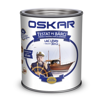 OSKAR LAC YACHT, 2.5L, TEAK AFRICAN