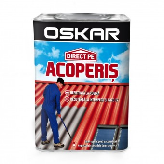 OSKAR ACOPERIS EMAIL, 0.75L, ROSU INCHIS