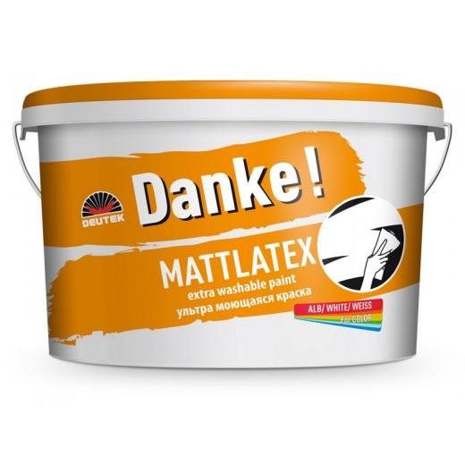 DANKE MATTLATEX 8.5L, interior/exterior, vopsea lavabila