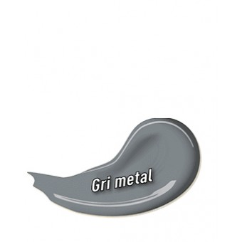 EMAIL DANKE 0.75L, gri metal, ext./int. uscare rapida