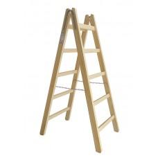 Scara  din lemn PREMIUM 2*4 trepte,inaltimea 132 cm MAAN PL