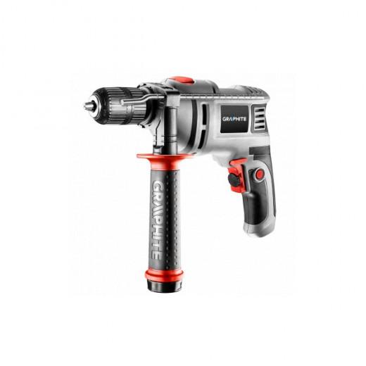 Instr.electric Graphite Bormasina percutie(T58G736), 650W,D13mm cu chee,
