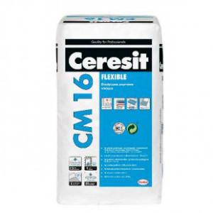 Adeziv  CM 16, 25 kg,CERESIT, pt placi porcelonate,piatra nat. (48)