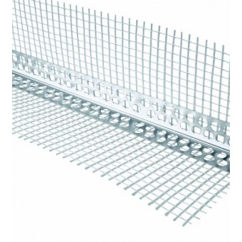 Cornier  aluminiu +plasa  2.5 m; (10cm)