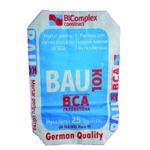 Adeziv  BAUKOL - BCA,25 kg(pe baza de ciment) pt gazbeton,(50)