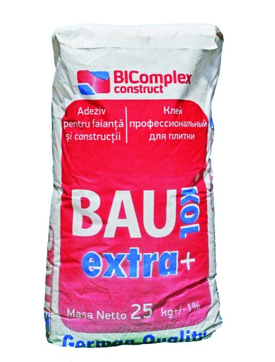 Adeziv   BAUKOL EXTRA PLUS, 25 kg,pt faianta,portelanat  (50)