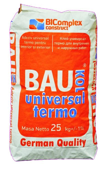 Adeziv     TERMO Baukol,25 kg,Univ.pt vata min.portelan,marm,(50)