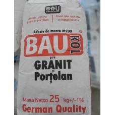 Adeziv  BAUKOL  GRANIT- Porcelan 25 kg (50) marca M200