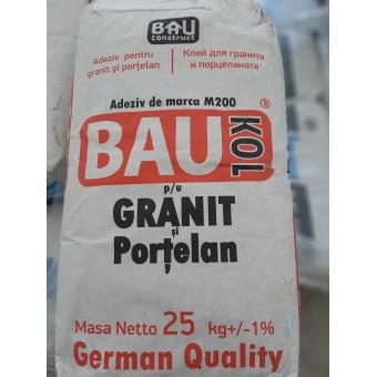 Adeziv  BAUKOL  Granit - Porcelan 25 kg (50) marca M200