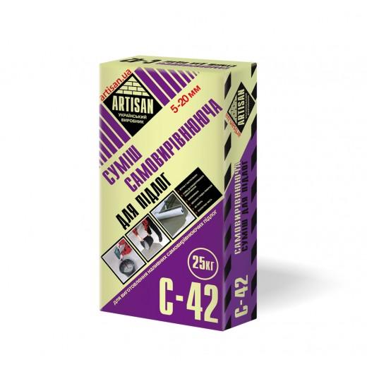 Sapa  C- 42, 25 kg,Artisan autoniv/podea ,(1.6 kg/m2/1mm),strat 4 -20mm,(42)