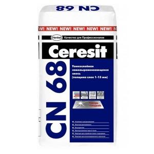 Sapa Ceresit CN-68, 25 kg,(1.5kg/m2/1mm), autoniv.2-20 mm,trafic casnic(42)