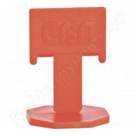 Sistem de nivelare gresie,faianta - CLEMA,set 125 buc,Orange