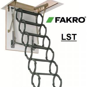 Scara mansarda FAKRO(metal)  (70*80 cm)(36mm)   LST- 280cm