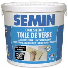 Adeziv *   tapete  TOILE DE VERRE, SEMIN ,10 kg,p/tapete fibra/sticla