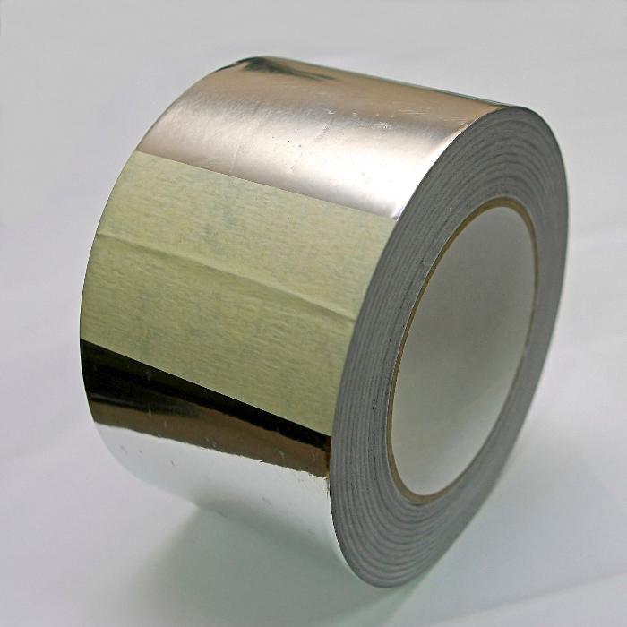 Banda  adeziva de ALUMINIU, 50 mm x 50 m (72)