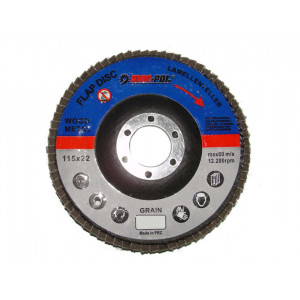 Disc abraziv petala MAR-POL (P80)  125 x 22