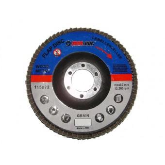 Disc abraziv petala MAR-POL (P60)  125 x 22