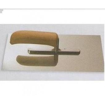 Drisca - inox, 280x130 mm, maner de lemn