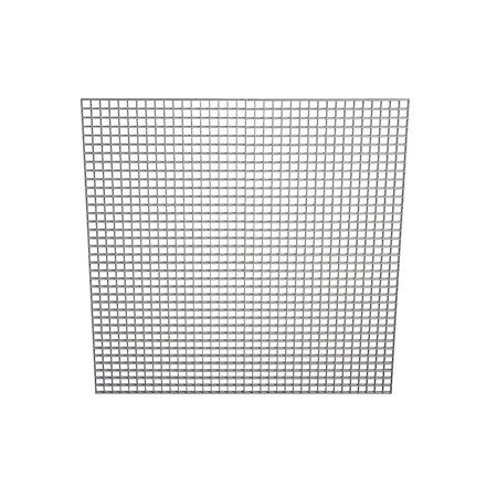Grila  pt ventilatie, TAVAN, 600 x 600 mm ,(gauri 13x13x9mm)