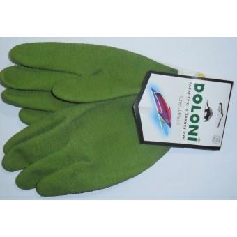 Manusi  aplicate cu guma verde art.4526