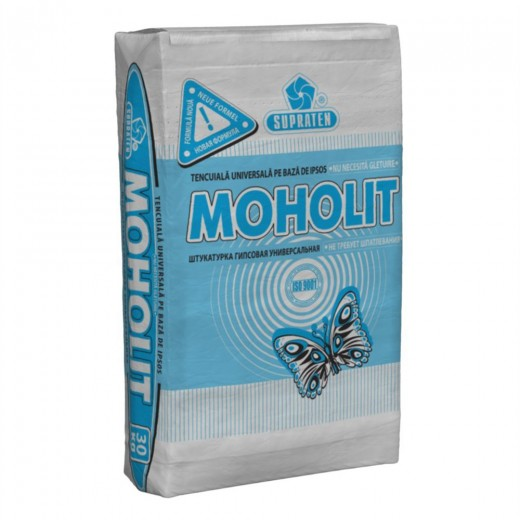 Amestec MOHOLIT, 30 kg, tencuiala (8-10 kg/m2/10mm) (48)
