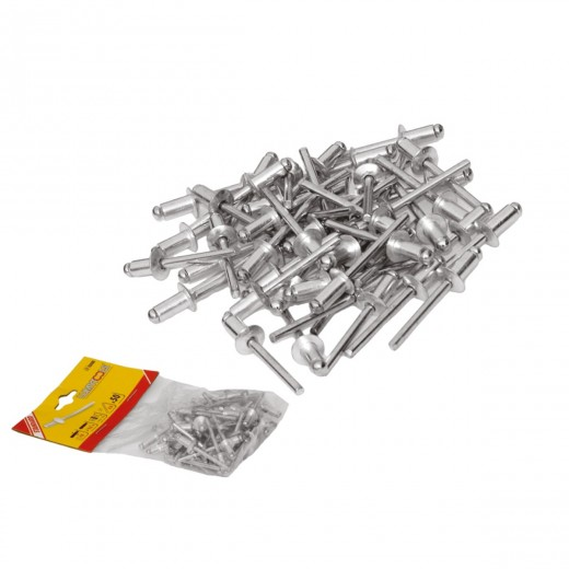 Nituri  de aluminiu, 4,8x 10mm  (100 )