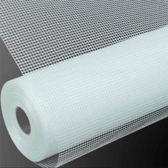 Plasa    fibre de sticla,CHINA 145 gr./m.p.ALBA (rulou 1x50m)