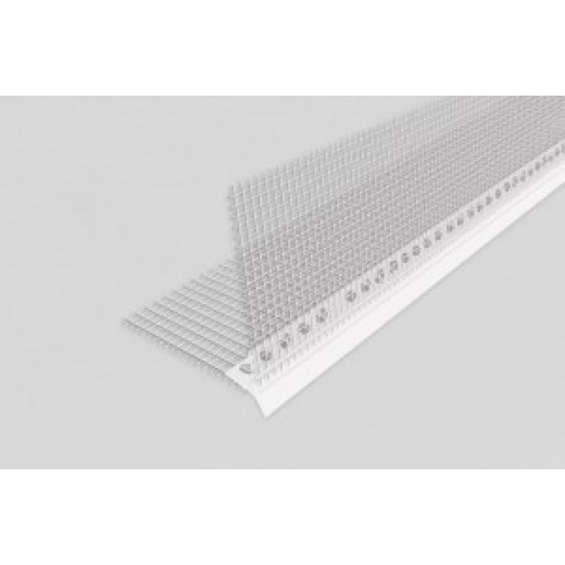 Cornier  PVC -PICURATURA,(Capelnic) cu pelicula si plasa ,2.5m