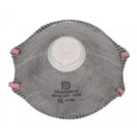 Respirator cu supapa FFP1, pt protectie de praf 313201