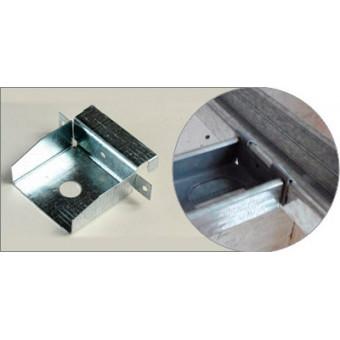Conector * de imbinare, unilateral,pt profile CD 60x27,0.7mm