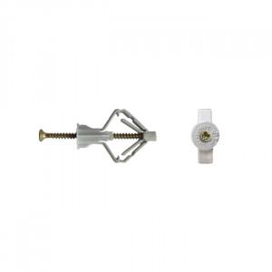 Diblu TNF-W, 3.5x60mm de plastic (fluturas)cu surub