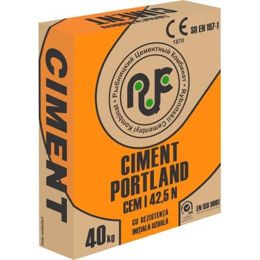 Ciment *  CEM I 42, 5N,  PC 500 D-0, 40 kg (Ribnita)