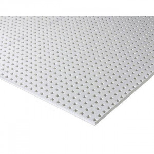 Gips-carton KNAUF Acustic (Cleaneo) 1.2 x 2m x12,5mm  12-25 Q