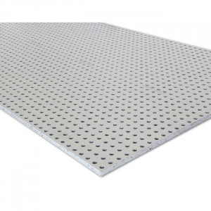 Gips-carton KNAUF Acustic (Cleaneo) 1.2 x 2m x12,5mm  12-25 R