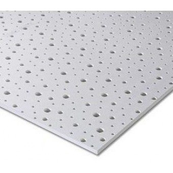 Gips-carton KNAUF Acustic (Cleaneo) 1.2 x 2m x12,5mm   8-15-20 R
