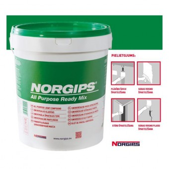 Chit   NORGIPS , 20 kg glet, baza de vinil (32)