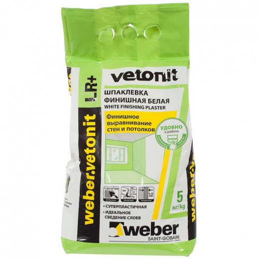 Chit   5 kg  VETONIT lr plus , chit pt interior