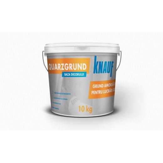 Grund    QUARZGRUND, 10 kg Knauf cu cuart pt plastere, int.-ext.(531029) (20)