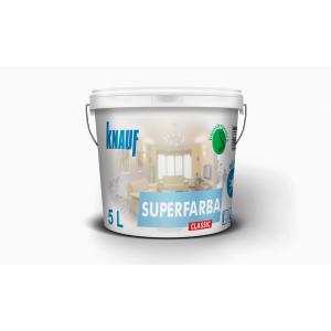 KNAUF   Vopsea    CLASSIC   10L. SUPERFARBA   (acril,interior)