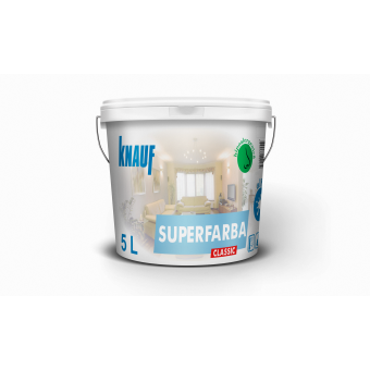 KNAUF   Vopsea    CLASSIC    3 L.  SUPERFARBA  (acril,interior)