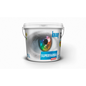 KNAUF   Vopsea   PREMIUM  3 L.  SUPERFARBA   (silicon,interior)
