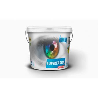 KNAUF   Vopsea   PREMIUM  3 L.  SUPERFARBA   (silicon,interior)