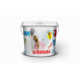KNAUF   Vopsea    PROFI   5 L.   SUPERFARBA  (acril,interior)