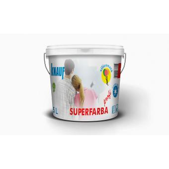 KNAUF   Vopsea    PROFI   5 L.   SUPERFARBA  (acril,interior)