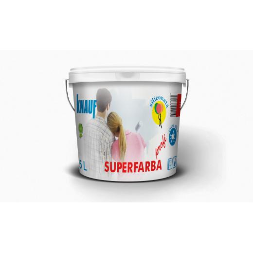 KNAUF   Vopsea    PROFI   3 L.  SUPERFARBA  (acril,interior)