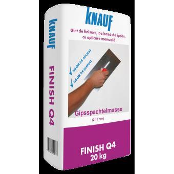 Finish Q4,(0.9 kg/1m2/1mm) chit aplic. manuala, KNAUF, 20kg  (60)