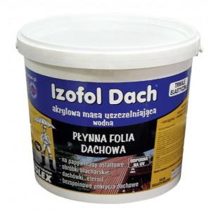 Hidroizolare  Izofol Dach (4 kg)   (1 kg/m2 - 2 straturi )