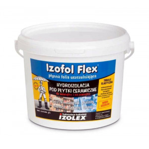 Hidroizolare  Izofol Flex (4 kg)   (1 kg/m2 - 2 straturi )