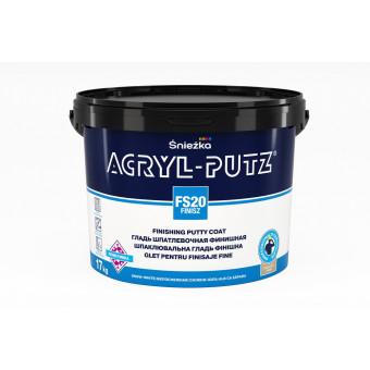 Acryl-putz finisz 5 kg, glet pt pereti si tavane